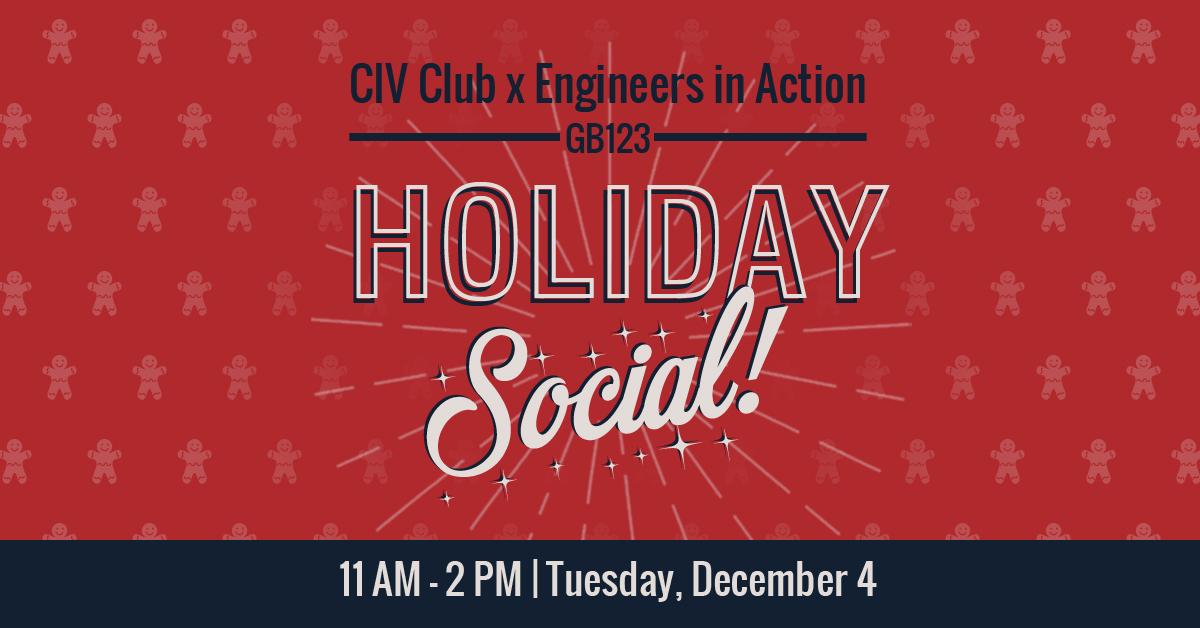 15 Civ Club Holiday Social